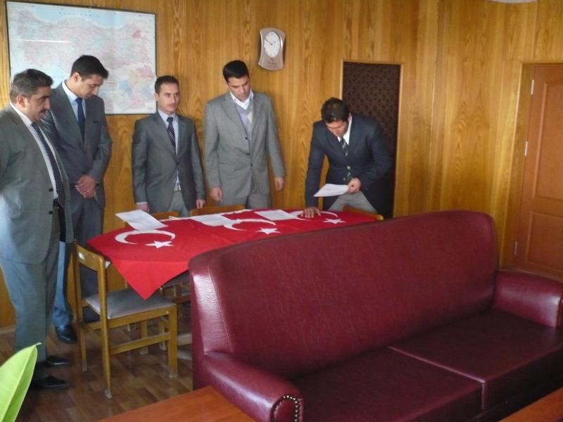 Kars Çevre ve Şehirçilik İl Müdürlüğü Aday memurlarının yemin töreni