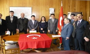Kars Bayındırlık ve İskan Müdürlüğü Aday memurların yemin töreni