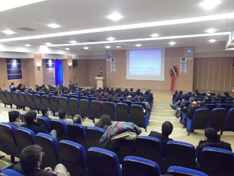 TMMOB İNŞ.Müh.Odası Kars Temsilciliği tarafından yapı denetimi uygulamaları konferansı düzenlenmiştir.