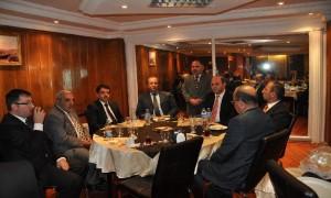Kars Valimiz Sayın Ahmet KARA Tarafından Düzenlenen veda yemeği