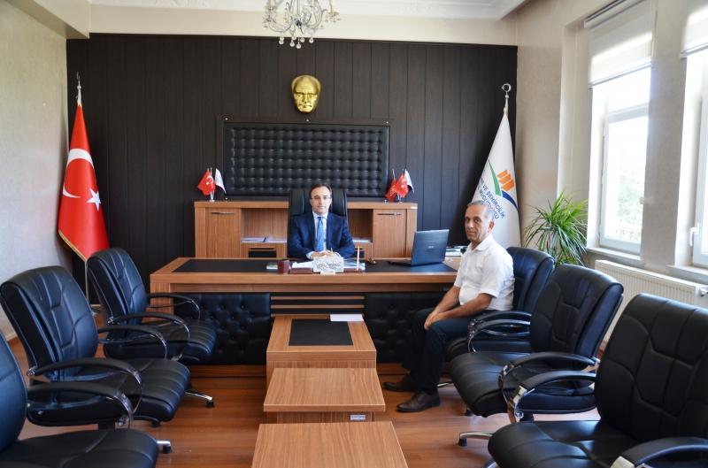Valimiz Sayın İsmail ÇATAKLI  kurumumuzu ziyaret etti.