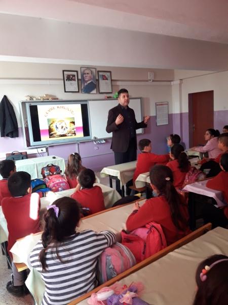 Okullarımızda Çevre Bilinci Eğitimlerimiz Devam Ediyor