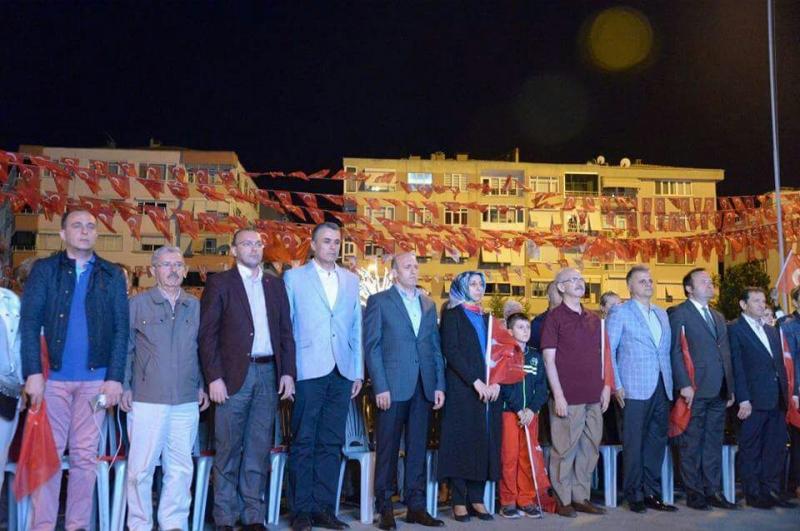 15 Temmuz Demokrasi Zaferi ve Şehitleri Anma Günü Valilik Meydanındaydık