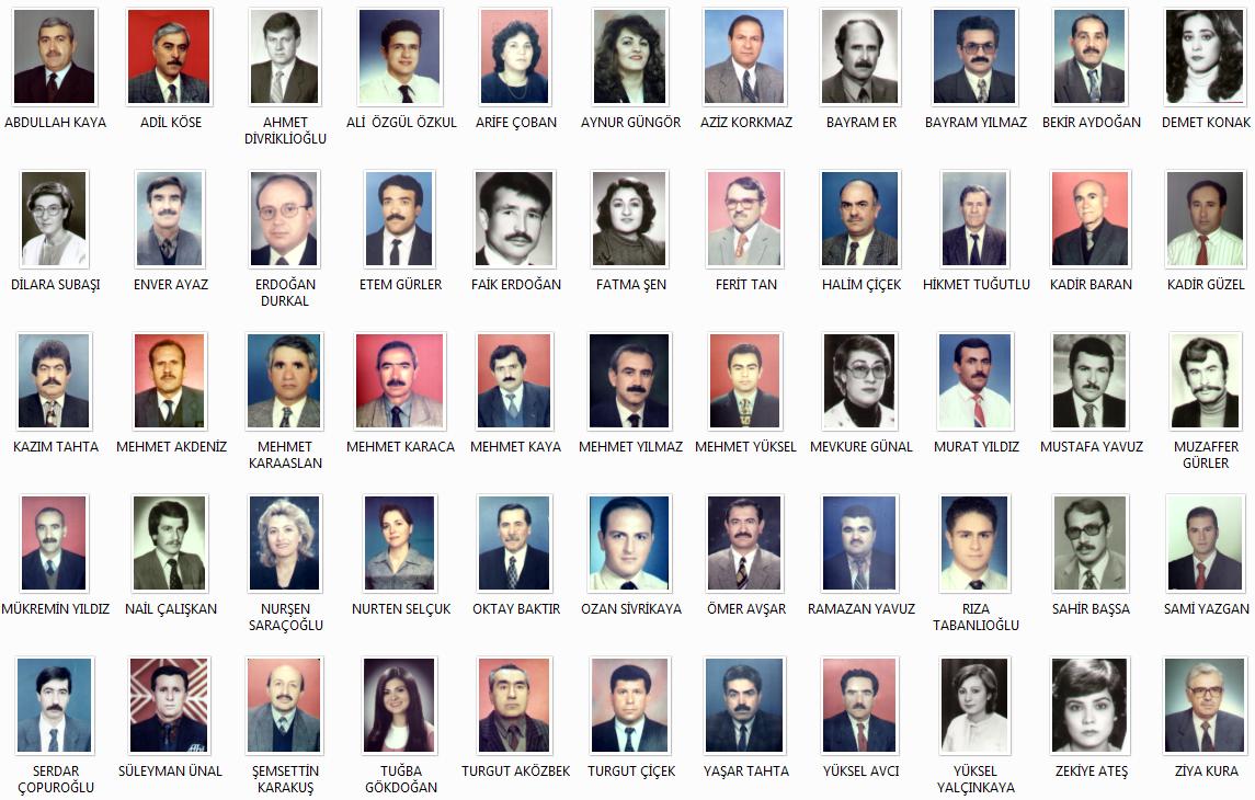 İlimizin Tanıtım Sayfası ve Müdürlüğümüz Nostalji Albümü
