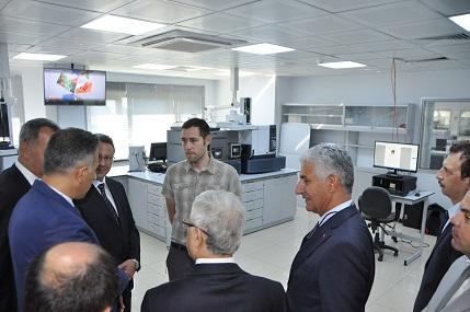Sayın Müsteşarımız Prof. Dr. Mustafa ÖZTÜRK Laboratuvar Ölçüm ve İzleme Dairesi Başkanlığı'nı ziyaret etti.