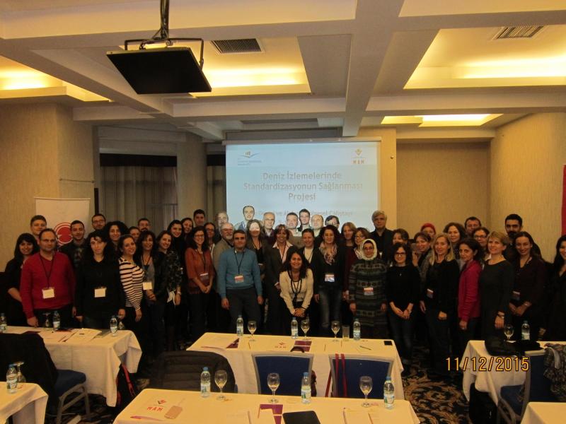 Deniz İzlemelerde Standardizasyonun Sağlanması Projesi-Ege ve Akdeniz Bölgesel Çalıştayı