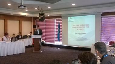 Uluslararası Kirletici Salım ve Taşınım Kaydı (PRTR) ve Kirlilik İndikatörleri Toplantısı düzenlendi
