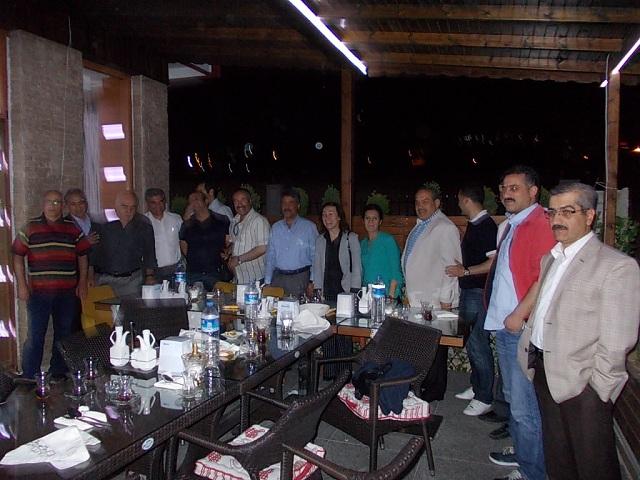 İl Müdürmüz Mehmet Çolak için veda yemeği verildi