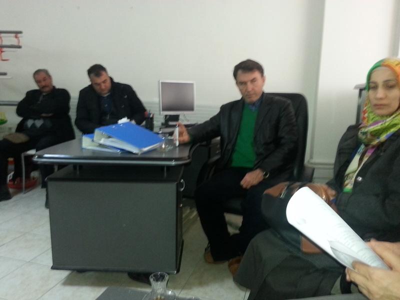Bina Tespit Değerlendirme Formlarının Hazırlanışı Hakkında Bilgilendirme Toplantısı