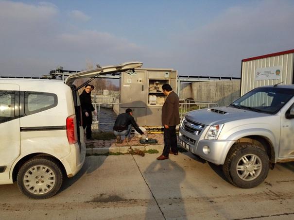 Malatya Büyükşehir Belediye Başkanlığı Atıksu Arıtma Tesisinden Atıksu Numunesi Alınmıştır