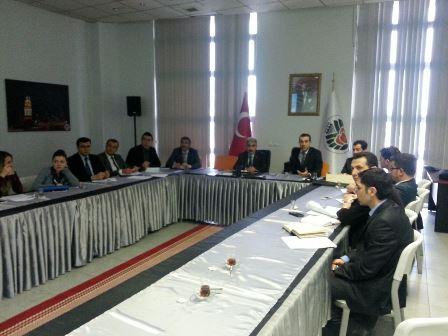 Altyapı ve Kentsel Dönüşüm Müdürlüğünce 6306 sayılı kanun kapsamında yapılan toplantı