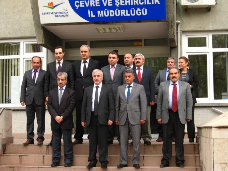 Malatya Valisi Süleyman KAMÇI'nın Müdürlüğümüze ziayreti