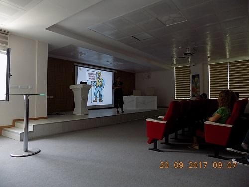 İş Sağlığı ve Güvenliği Eğitimi konferans salonumuzda verilmiştir.