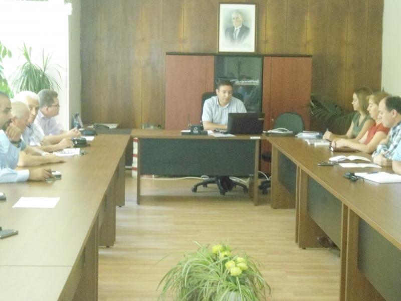 Yapı Denetim İzin Belgesi Vize İşlemleri Hakkında Toplantı Yapıldı.