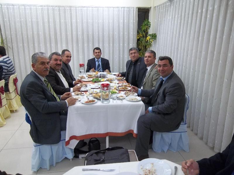 İl Müdürlüğümüzde Veda Yemeği Düzenlendi.