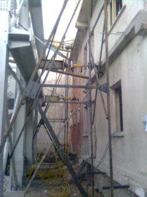"""""""yığma yapı sistemlerinde güvenlik tespit deneyi gözlemi yapılmıştır.."""""""