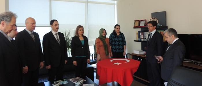 Genel Müdürlüğümüz Aday Memurlarının yemin töreni üst düzey yöneticilerimizin katılımıyla gerçekleştirildi.