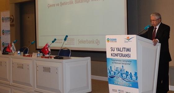 Bakanlığımız ve İZODER işbirliği ile düzenlenen Su Yalıtımı Konferansı Sn.Müsteşarımız Prof. Dr. Mustafa ÖZTÜRK'ün katılımyla gerçekleştirilmiştir.