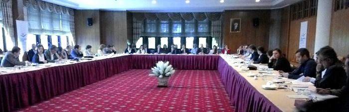 """Genel Müdürlüğümüz tarafından organize edilen """"Tip İmar Yönetmeliği ve Belediyelerin Beklentileri """" konulu çalıştay 31.05.2014 tarihinde gerçekleştirilmiştir."""