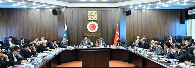 Bakanımızın başkanlık ettiği Türkiye Pakistan Kek toplantısına Sn. Genel Müdürümüz Selami MERDİN iştirak etmişlerdir.
