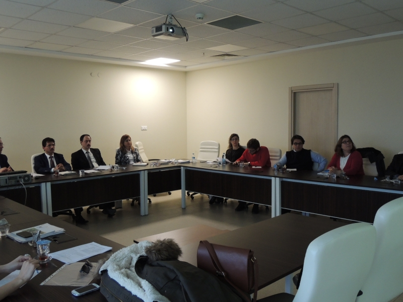 Otopark Yönetmeliğinin Hazırlanmasına Yönelik Hizmet Protokolü Toplantısı