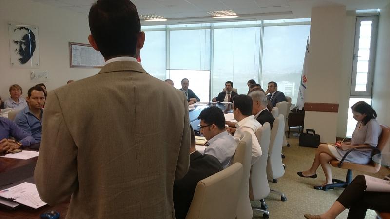 IPA Binalarda Enerji Verimliliğinin Arttırılması Projesi-1.Proje Yönlendirme Komitesi Toplantısı