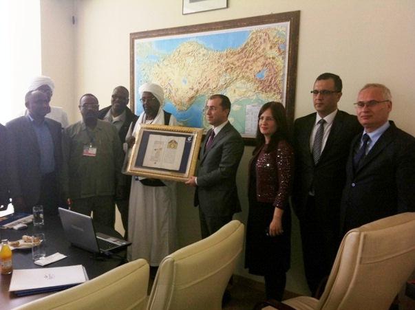 Sudan Heyeti Mekansal Planlama Genel Müdürlüğünü Ziyaret Etti