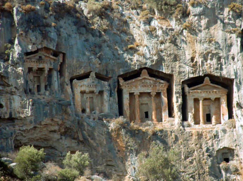 Köyceğiz-Dalyan Kaya Mezarları