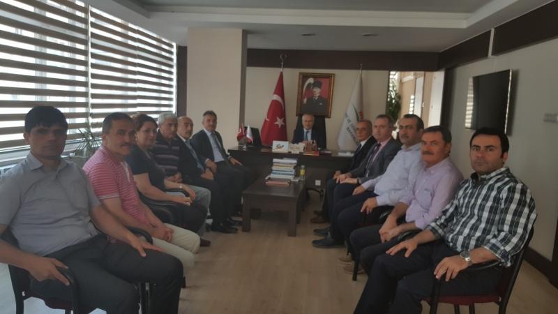 Sayın Bakan Yardımcımız Mehmet CEYLAN'ın İl Müdürlüğümüzü Ziyareti