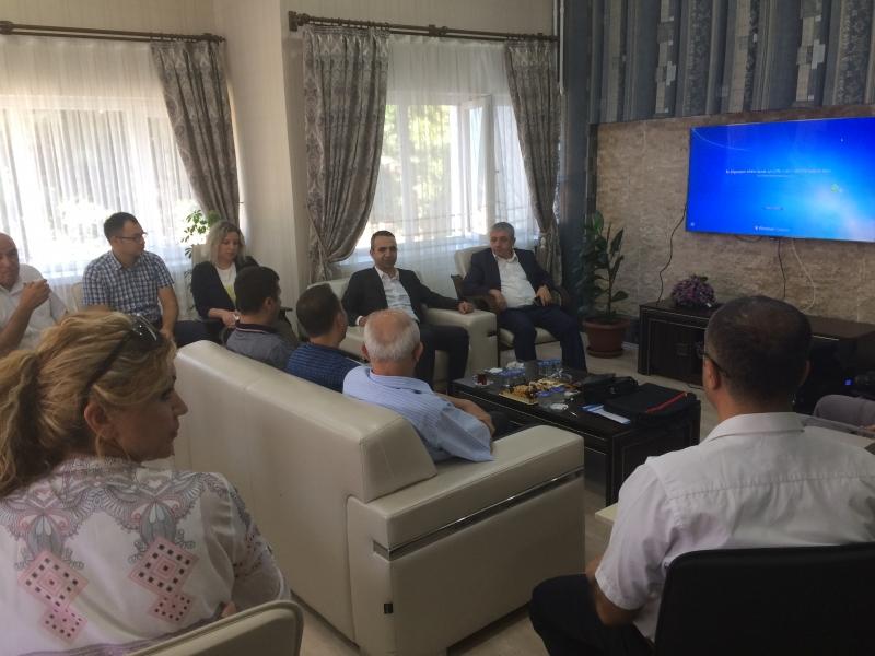Şanlıurfa Tabiat Varlıklarını Koruma Bölge Komisyonun 79. Toplantısı  27.07.2017 tarihinde Elazığ ilinde yapılmıştır