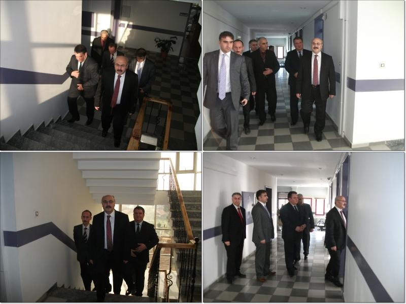 Vali Köşger'den İl Müdürlüğümüze Ziyaret