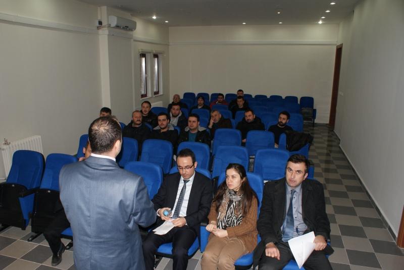 Sinop'ta Yapı Denetim Firmaları ve Beton Santralleri Bilgilendirildi