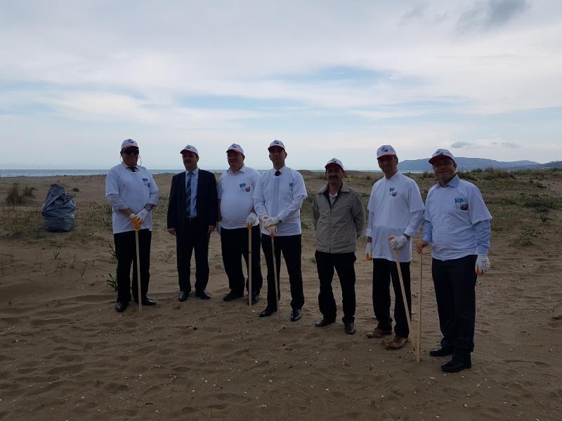 Çevre Günü etkinlikleri çerçevesinde sahilde buluştuk