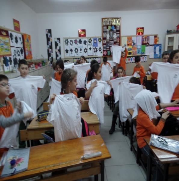 İlköğretim Okullarında Çevre Eğitimi Dersleri Devam Ediyor.