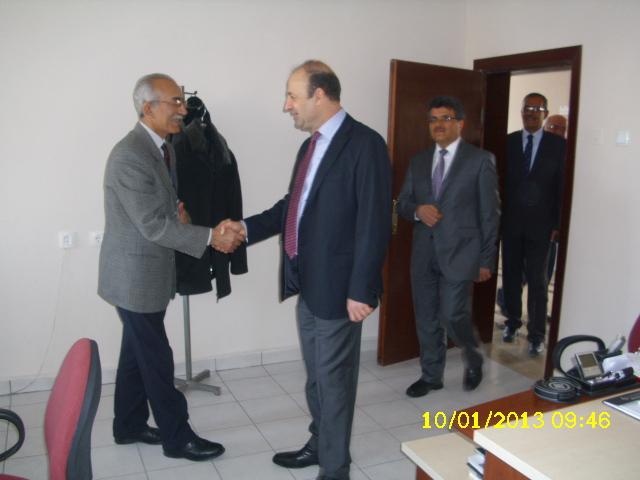 Bakanlığımız Müsteşar Yardımcısı M.Bahaettin KAPTAN' ın Müdürlüğümüzü ziyareti