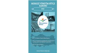 Bakanlığımız 2017 Yılı Bütçe Ödenekleri ve Yatırım Programı
