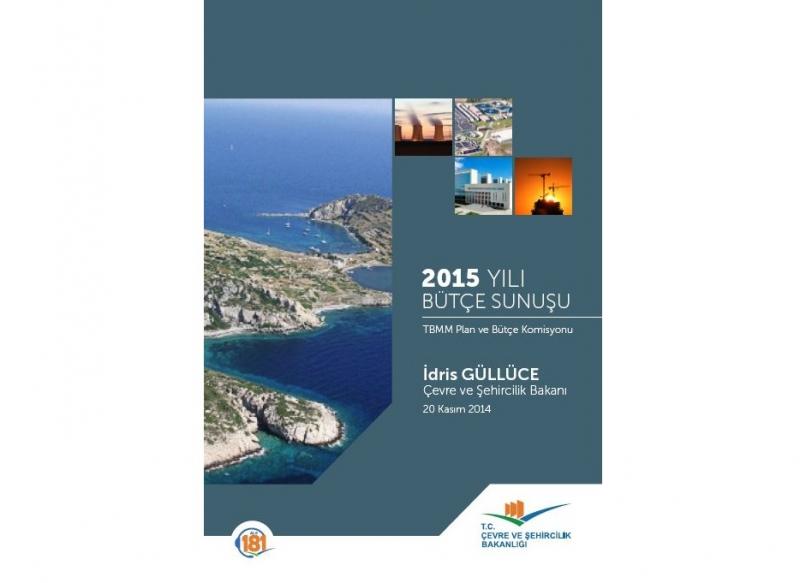 2015 Yılı Bütçe Sunuşu