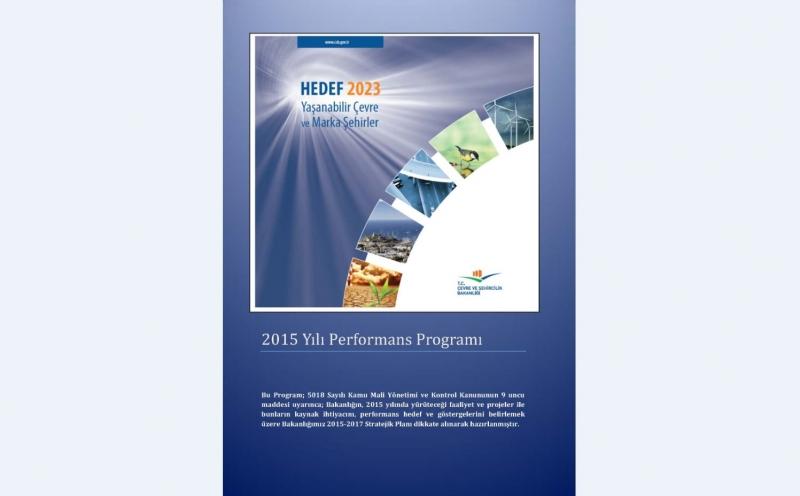 2015 Yılı Performans Programı