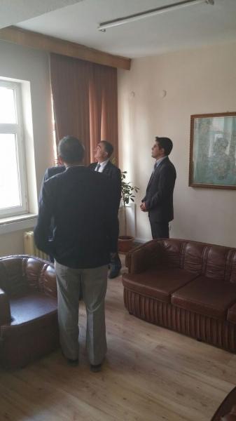 Afyonkarahisar Çevre ve Şehircilik İl Müdürlüğü Ziyaret Edildi