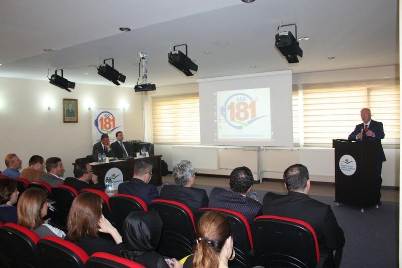 Alo 181'de Vatandaşlara En İyi Hizmet İçin Eğitimler Devam Ediyor