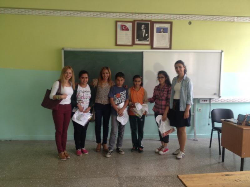 5 Haziran Çevre Günü Etkinliği-Okul ziyareti