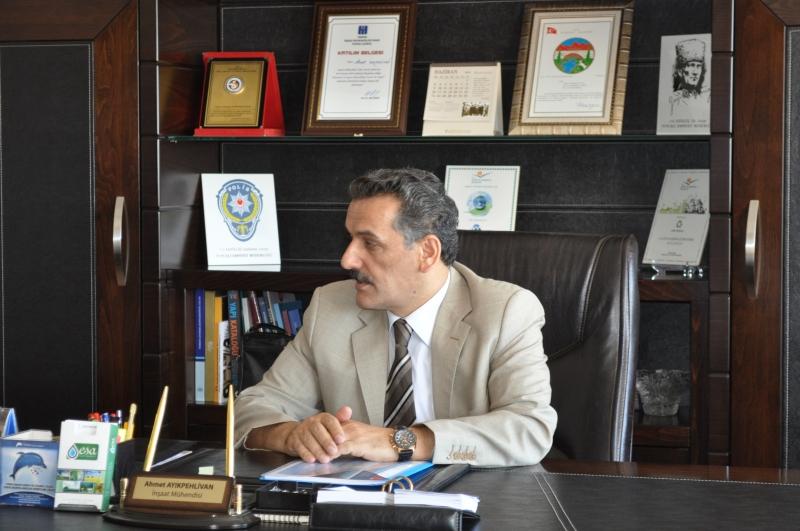 Valimiz Sayın Osman Kaymak Müdürlüğümüzü Ziyaret etti