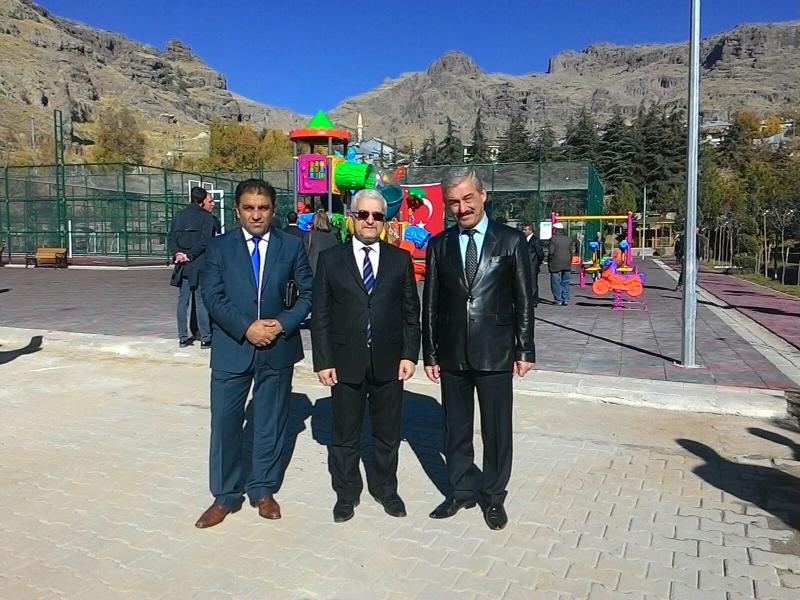 Mazgirt Kapalı Spor Salonu ve Özgecan ASLAN Parkı Açılış Töreni