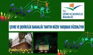 Çevre Ve Şehircilik Bakanlığı Tanıtım Müziği Yarışması Düzenleyecek
