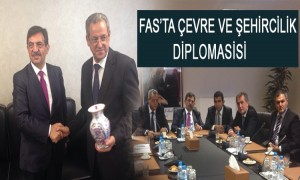 Bakan Güllüce, Fas Şehircilik Ve Ülke Topraklarinin Düzenlenmesi Bakanı Mohand Laenser İle Görüştü