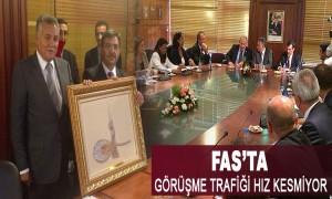Bakan Güllüce Fas Şehircilik ve Kent Politikası Bakanı Nabil Benabdallah ile Görüştü