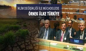 Türkiye İklim Değişikliği Zirvesi'ne Damga Vurdu
