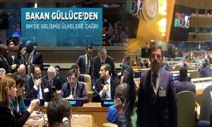 Çevre ve Şehircilik Bakanı İdris Güllüce'nin BM Temasları