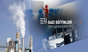 Sera Gazı Eğitimleri Tüm Hızıyla Sürüyor