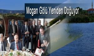 Çevre ve Şehircilik Bakanlığı Mogan Gölü için harekete geçti.